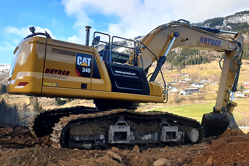 Caterpillar 340 Next Gen